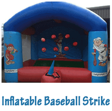 Inflatable Baseball strike