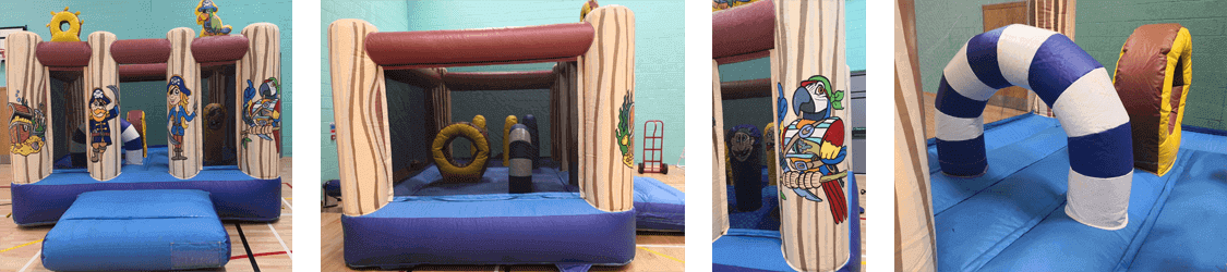 PirateThemeMiniBouncyCastle