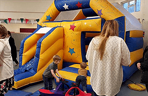 affordable combo castle hire