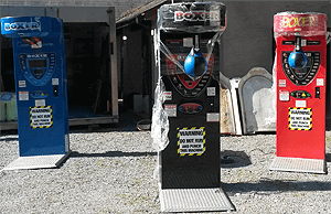 boxing machine hire2018