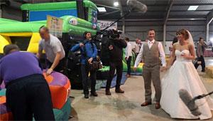wedding entertainment and bouncy castle hire carmarthenshire