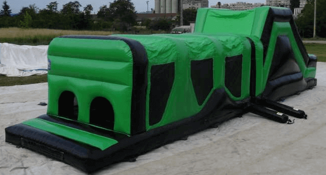 Giant Themed Inflatable Assault Course Hire
