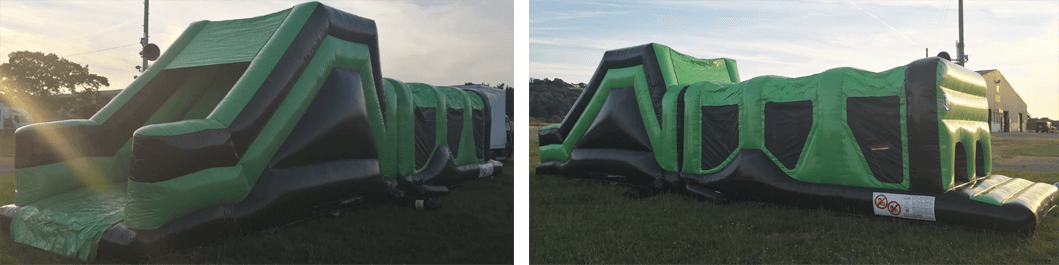 green assault course hire