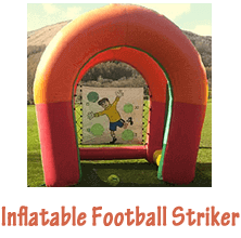 inflatable football striker