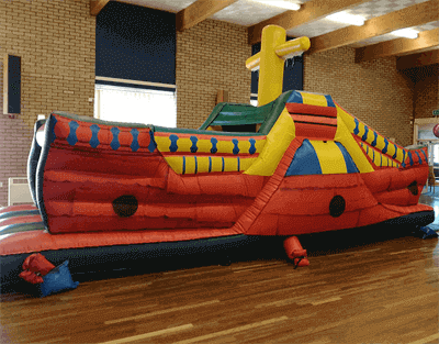 pirate ship hire