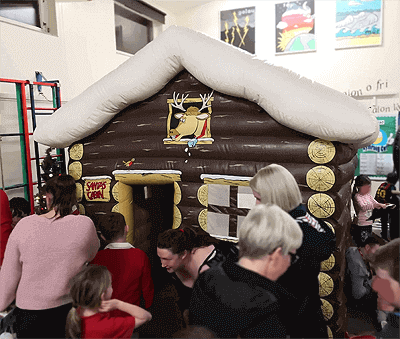 santas grotto hire