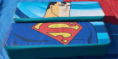 superman soft play puzzle