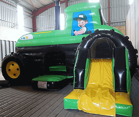 tractorbouncycastle hire wales