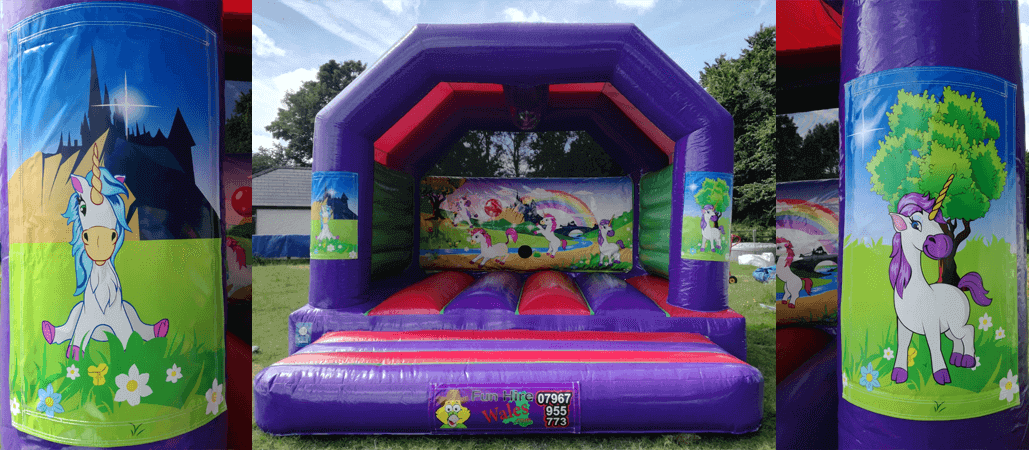 unicorn bouncycastle hire