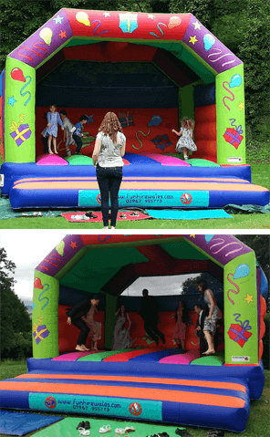 wedding bouncy castle hire